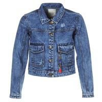 Clothing Women Denim jackets Kaporal BUCHE Blue