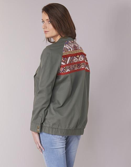 Clothing Women Jackets Kaporal MABYL Kaki