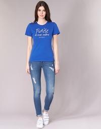 Clothing Women slim jeans Kaporal LOKA Blue / Medium