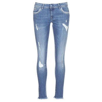 Clothing Women slim jeans Kaporal PIA Blue