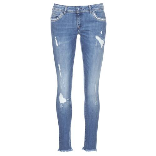 Clothing Women slim jeans Kaporal PIA Blue