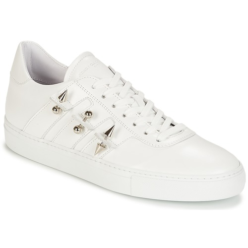 Shoes Men Low top trainers John Galliano 4722 White