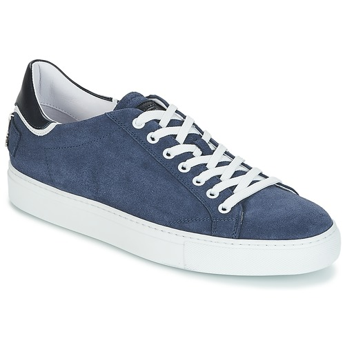 Shoes Men Low top trainers John Galliano 4740 Marine