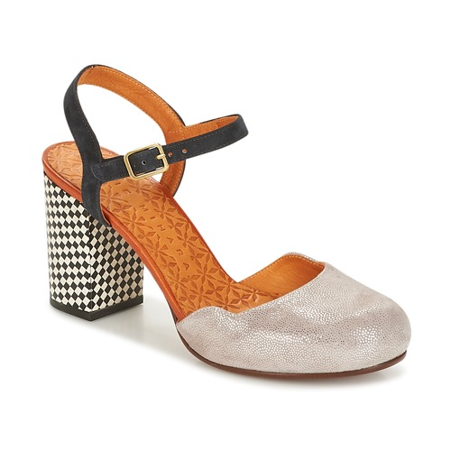Shoes Women Sandals Chie Mihara KAIRI Grey /  black / Blue