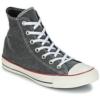Shoes Hi top trainers Converse Chuck Taylor All Star Hi Stone Wash Grey
