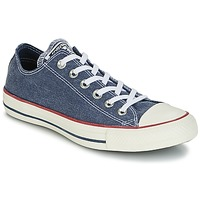Shoes Low top trainers Converse Chuck Taylor All Star Ox Stone Wash Marine