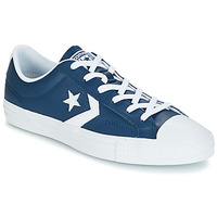 Shoes Men Low top trainers Converse Star Player Ox Leather Essentials Marine