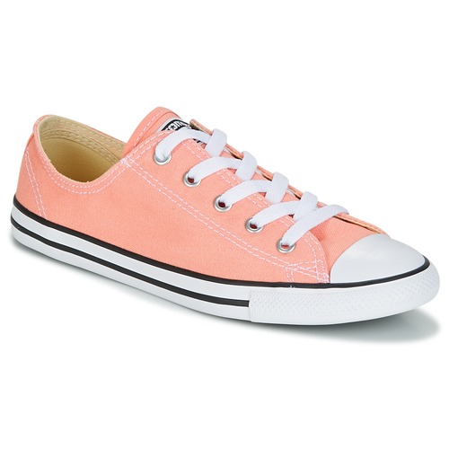 5c7df9e6024d67 Shoes Women Low top trainers Converse Chuck Taylor All Star Dainty Ox  Canvas Color Pink