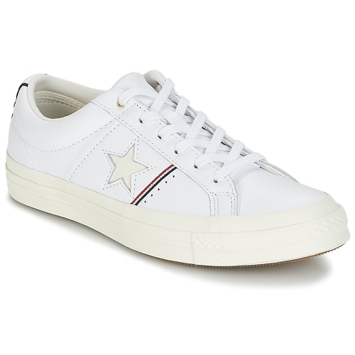 Shoes Low top trainers Converse One Star White