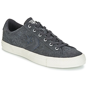 Shoes Men Low top trainers Converse Star Player Ox Fashion Textile Grey