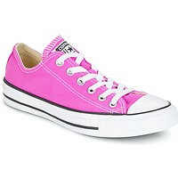 Shoes Women Low top trainers Converse Chuck Taylor All Star Ox Seasonal Colors Pink