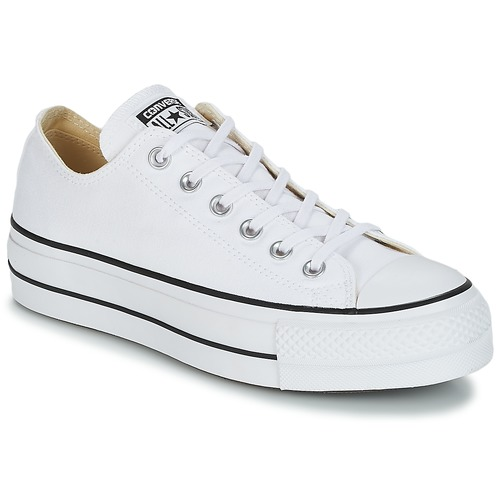 5cfaa7c67d Converse Chuck Taylor. 50.99. Shoes Women Low top trainers Converse Chuck  Taylor All Star Lift Clean Ox ...