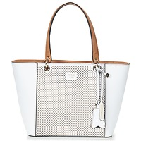 Bags Women Shopping Bags / Baskets Guess KAMRYN TOTE White