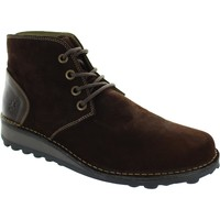 Shoes Men Mid boots Fly London Muni Oil Suede Expresso