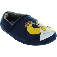 Shoes Men Slippers The Simpsons Hardy Blue