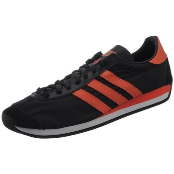Shoes Men Low top trainers adidas Originals Country OG Black-Red