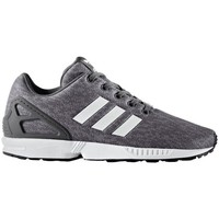 Shoes Children Low top trainers adidas Originals ZX Flux J Grey
