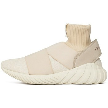 Shoes Women Low top trainers adidas Originals Consortium Tubular Elastic Wmns Overkill X Fruition Sneaker Exch Beige-White