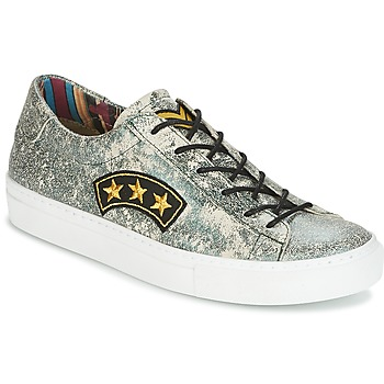 Shoes Women Low top trainers Felmini VERDE Green / Metallic