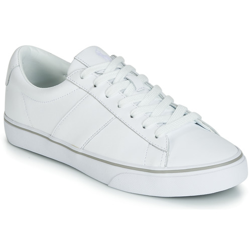 Shoes Men Low top trainers Polo Ralph Lauren SAYER White