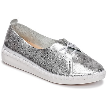 Shoes Women Derby Shoes Les Petites Bombes DEMY Silver