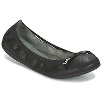 Shoes Women Flat shoes Les P'tites Bombes ELLA VELOUR Black