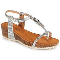 Shoes Women Sandals Les Petites Bombes KISS Silver