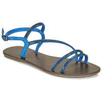 Shoes Women Sandals Les Petites Bombes NELLY Blue