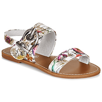 Shoes Women Sandals LPB Woman PERVENCHE White
