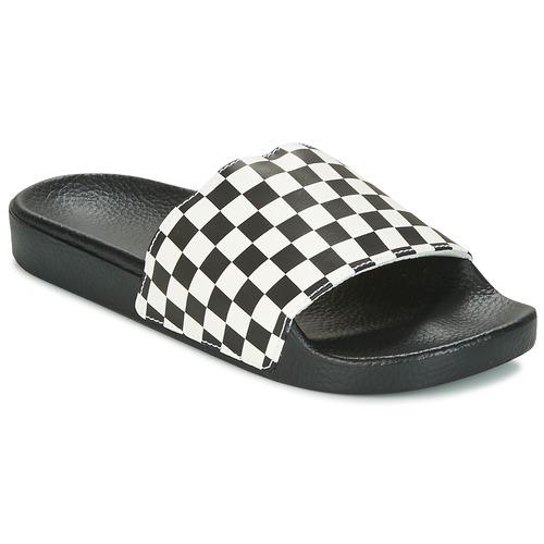 Shoes Men Tap-dancing Vans MN SLIDE-ON Black