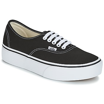 Shoes Women Low top trainers Vans AUTHENTIC Black