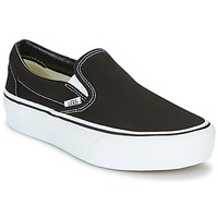 Shoes Women Slip-ons Vans SLIP-ON PLATFORM Black