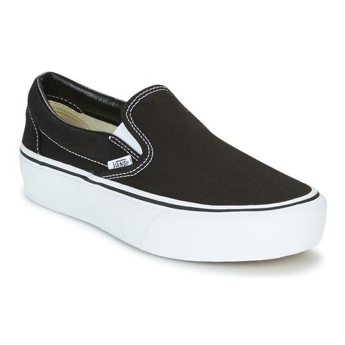 Shoes Women Slip-ons Vans SLIP-ON PLATFORM Black