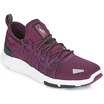 Shoes Women Low top trainers Polo Ralph Lauren TRAIN 200 Purple