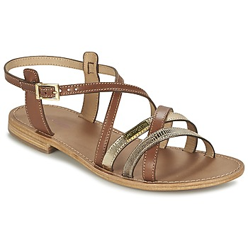 Shoes Women Sandals Les Tropéziennes par M Belarbi HAPAX Tan / Beige