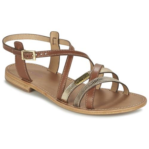 Shoes Women Sandals Les Tropéziennes par M Belarbi HAPAX Tan / Beige