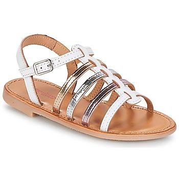Shoes Girl Sandals Les Tropéziennes par M Belarbi MONGUE White