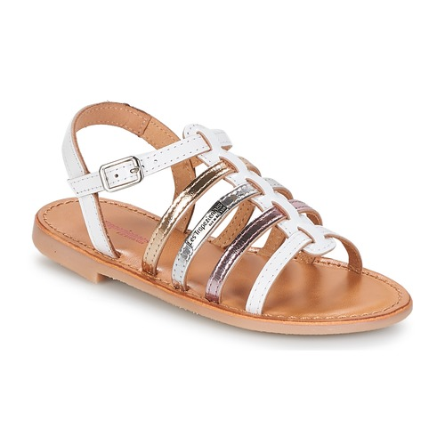 Shoes Girl Sandals Les Tropéziennes par M Belarbi MONGUE White