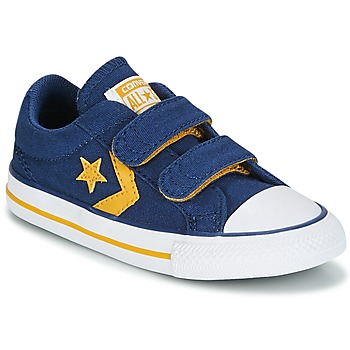 Shoes Boy Low top trainers Converse Star Player EV 2V Ox Sport Canvas Blue