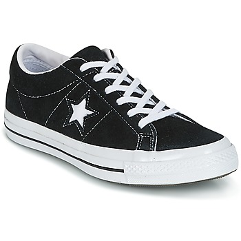 Shoes Low top trainers Converse One Star Black / White