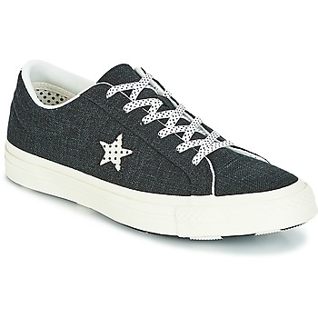 Shoes Women Low top trainers Converse One Star-Ox Black