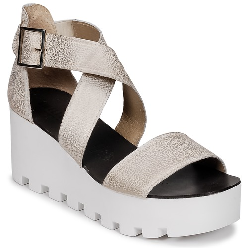 Shoes Women Sandals Sweet Lemon SUBWAY Silver