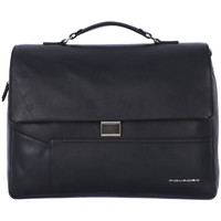 Bags Men Briefcases Piquadro CARTELLA PORTA PC Nero