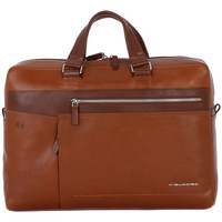 Bags Men Briefcases Piquadro CARTELLA PORTA PC Marrone