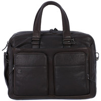 Bags Men Briefcases Piquadro CARTELLA INPELLE 2 MANICI Marrone