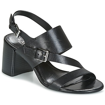Shoes Women Sandals Ralph Lauren FLORIN Black