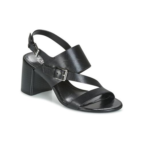 Shoes Women Sandals Lauren Ralph Lauren FLORIN Black