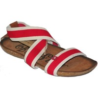 Shoes Women Sandals Big Star 0274054 Red
