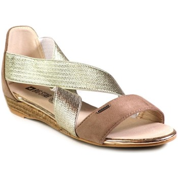 Shoes Women Sandals Big Star W274109 Golden
