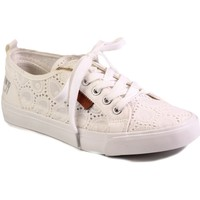 Shoes Women Low top trainers Big Star W274925 White